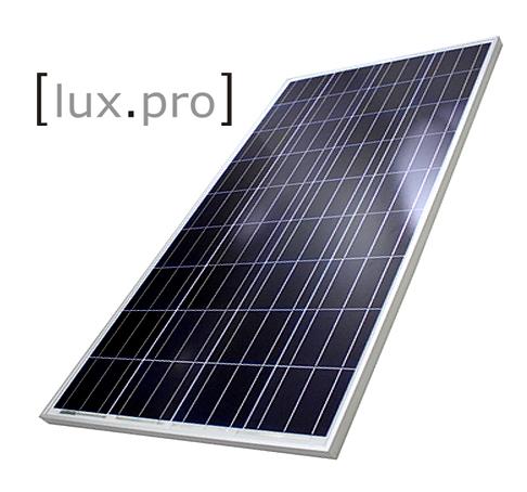 lux pro 100w solarpanel solarmodul photovoltaik solarzelle solar zellen 100 watt ebay. Black Bedroom Furniture Sets. Home Design Ideas