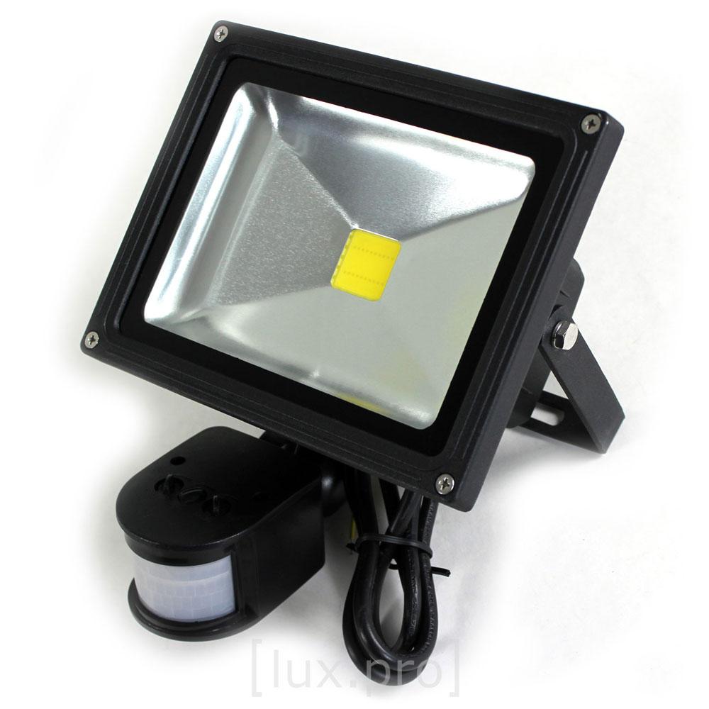 20w led smd fluter bewegungsmelder objektbeleuchtung strahler weiss ebay. Black Bedroom Furniture Sets. Home Design Ideas