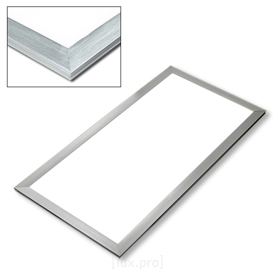 hi power led panel ultraslim warmwei 60x30cm warm wei 25w slim neu. Black Bedroom Furniture Sets. Home Design Ideas