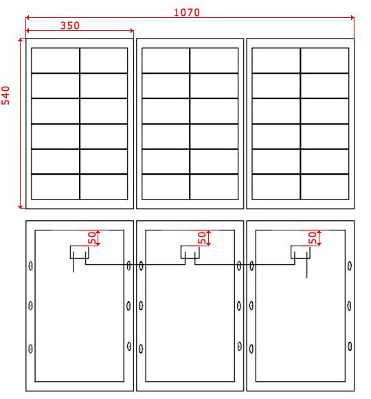 panneau photovoltaique portable s rie 80. Black Bedroom Furniture Sets. Home Design Ideas