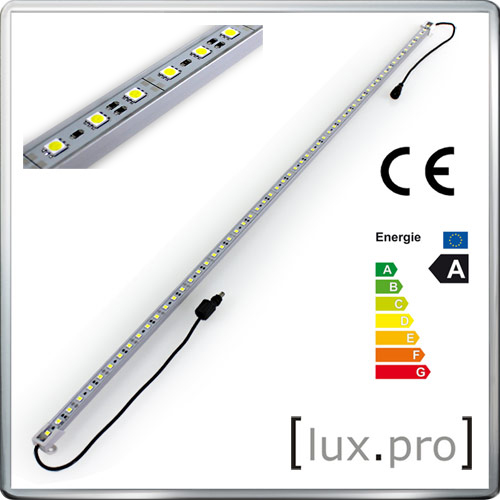 100cm alu hi power led lichtleiste warmwei unterbauleuchte leiste strip 12v smd ebay. Black Bedroom Furniture Sets. Home Design Ideas