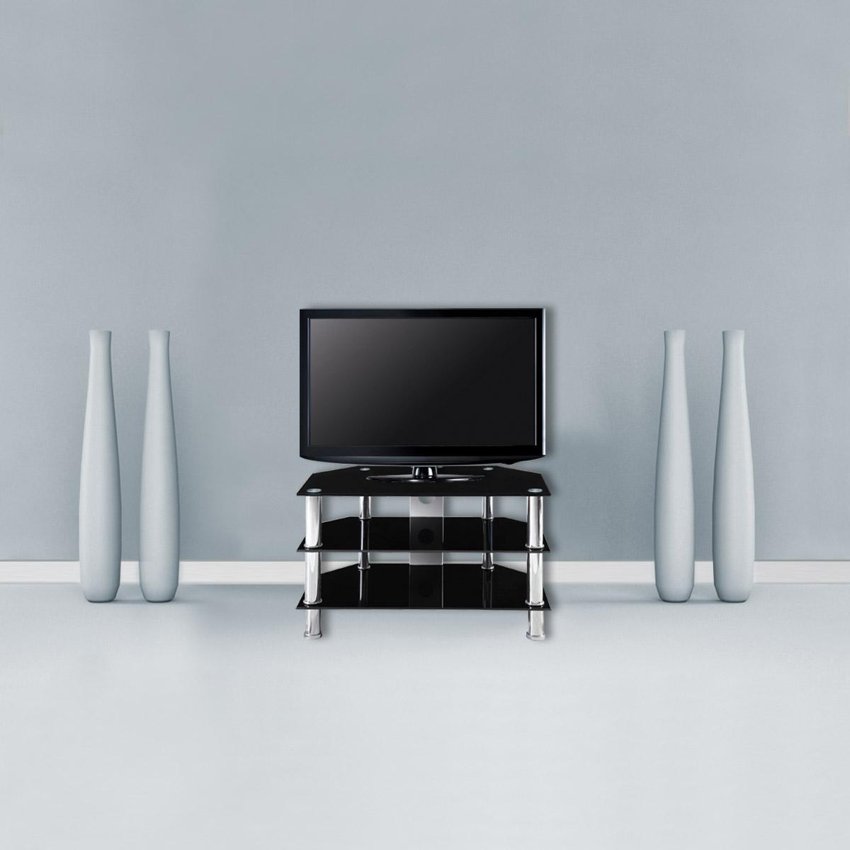 corium couchtisch tisch glastisch schwarz beistelltisch wohnzimmer wei rack ebay. Black Bedroom Furniture Sets. Home Design Ideas