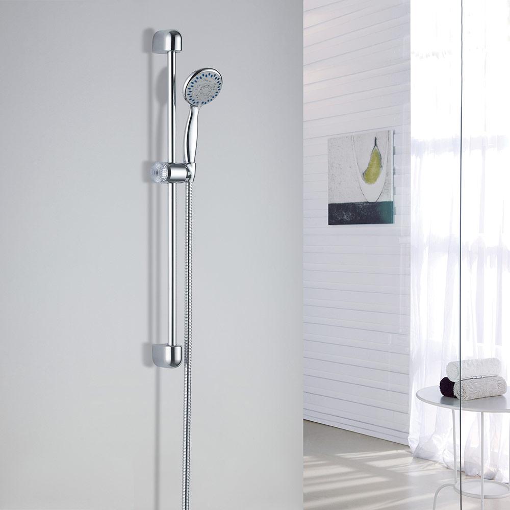 Rovere nuovo led doccia set colonna valvola soffione - Altezza soffione doccia ...