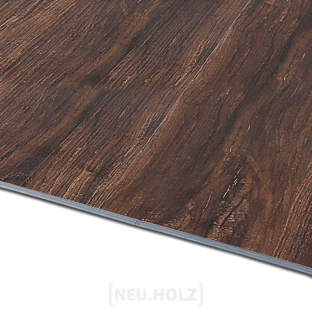 neuholz click vinyl laminat 19 20m vinylboden wenge matt bodenbelag klick ebay. Black Bedroom Furniture Sets. Home Design Ideas