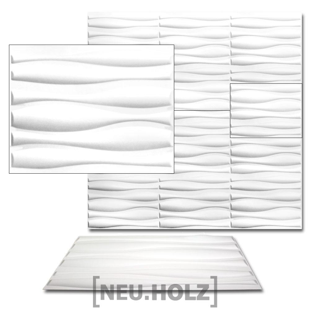 ... 6m² Pannelli Da Parete 3D Rivestimento Parete Design Muro Decorativo