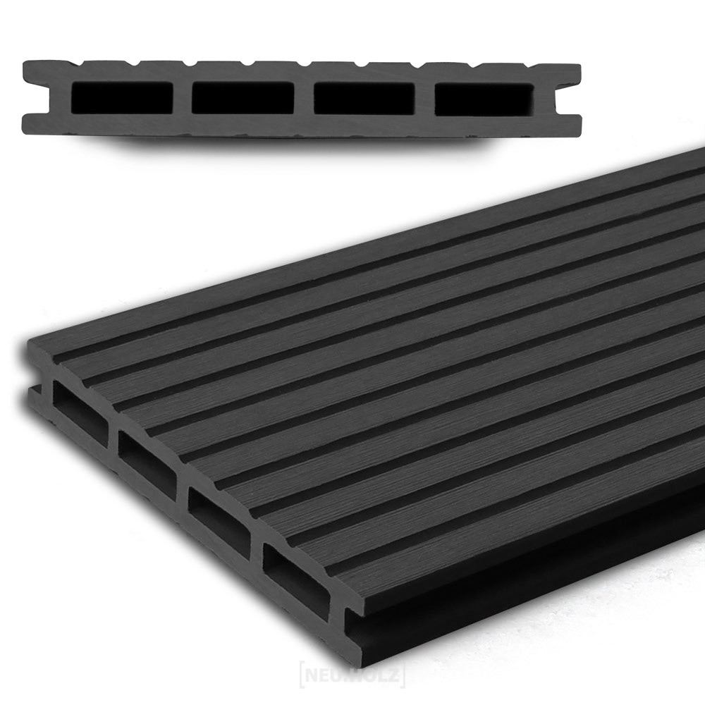 neu holz wpc holzdielen 1 65m 220cm wenge. Black Bedroom Furniture Sets. Home Design Ideas